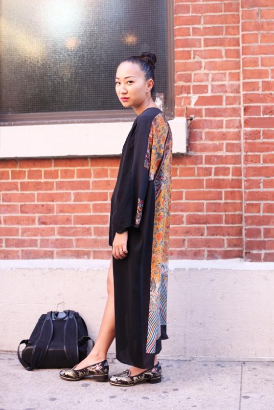 NY-Fashion-Week-printed-back-kimono